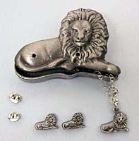 Lion Jewelry Box