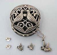 Lovebird Jewelry Box