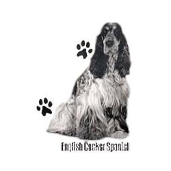 English Cocker Spaniel T-Shirt - Profiles