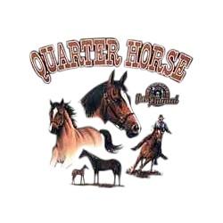Quarter Horse T-Shirt - Several Poses