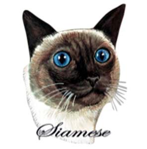 Siamese Cat T-Shirt - Eye Catching
