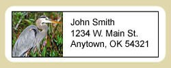 Heron Address Labels