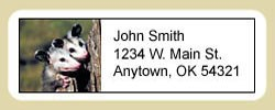 Opossum Address Labels