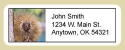 Porcupine Address Labels