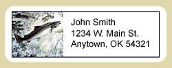 Salmon Address Labels