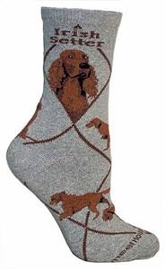 Irish Setter Socks