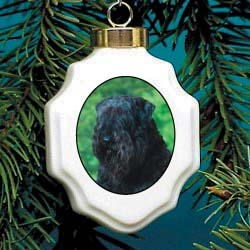 Bouvier des Flandres Christmas Ornament Porcelain