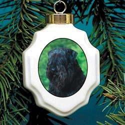 Bouvier des Flandres Christmas Ornament Porcelain
