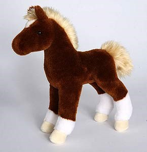 Brown Horse Plush