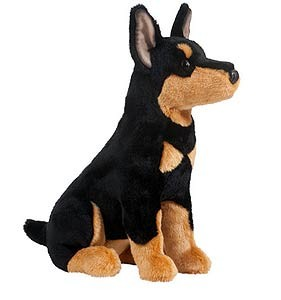 Doberman Pinscher Plush