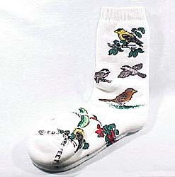 Chickadee & Friends Socks