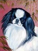 Japanese Chin Garden Flag