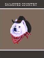 Samoyed Garden Flag
