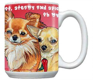 Long Hair Chihuahua Coffee Mug