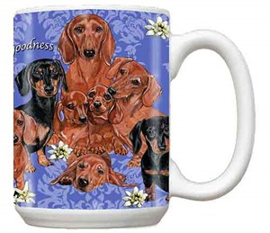 Dachshund Long Hair Coffee Mug