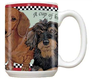 Dachshund Wire Hair Coffee Mug