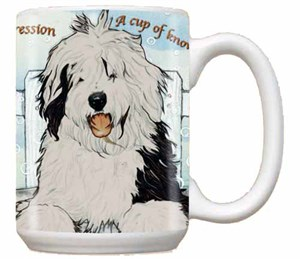 Old English Sheepdog Coffee Mug