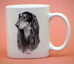 Saluki Coffee Mug