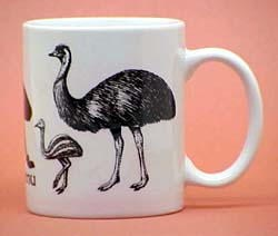 Emu Coffee Mug