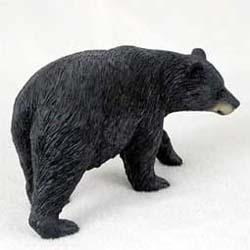 Black Bear Figurine