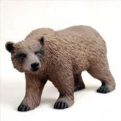 Grizzly Bear Figurine