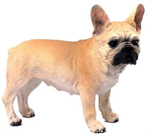 French Bulldog Figurine Fawn