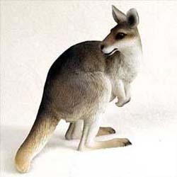 Kangaroo Figurine