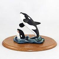 Orca Whale Figurine