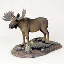 Moose Figurine