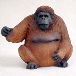 Orangutan Figurine