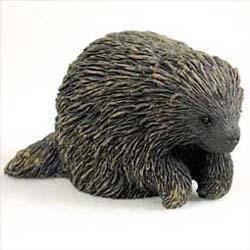 Porcupine Figurine