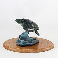 Sea Turtle Figurine