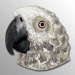 African Gray Parrot Magnet