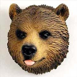 Brown Bear Magnet
