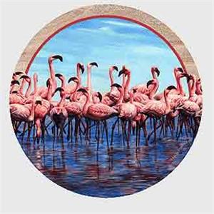 Flamingo Drink Coasters