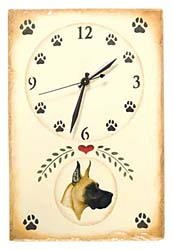 Great Dane Clock