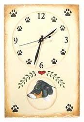 Jack Russell Terrier Clock