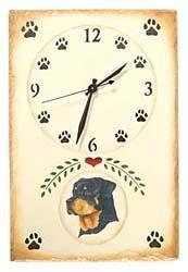 Rottweiler Clock