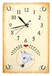 Arabian Horse Clock
