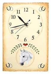 Arabian Horse Clock