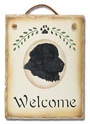 Newfoundland Slate Welcome Sign