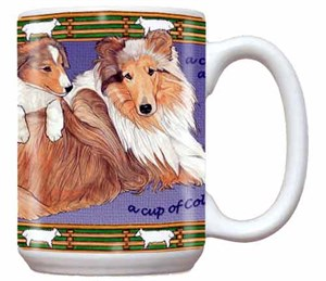 Collie Coffee Mug