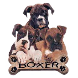 Boxer T-Shirt - Trio of Three