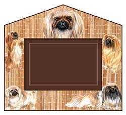 Pekingese Decorative Picture Frame