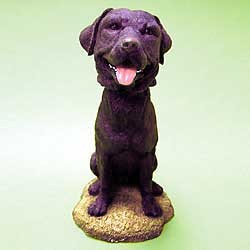 Black Lab Bobble Head