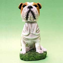 Bulldog Bobble Head