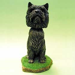 Cairn Terrier Bobble Head