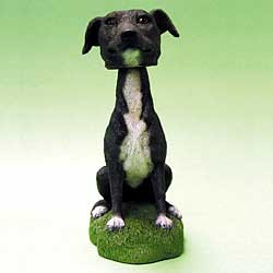 Greyhound Bobble Head