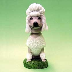 Poodle Bobble Head