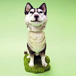 Siberian Husky Bobble Head
